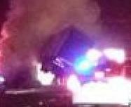 Fiery Crash Blocks 101 Freeway in Westlake Village