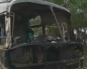Deadly Bus Fire in Colombia Kills 33 Children