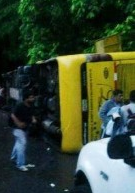 Bus Crash in Venezuela Kills 4