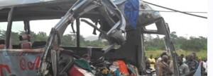Ghana Bus Crash, 18+ fatalities