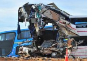 Three way Crash Kills 12, injures 48 in Argentina