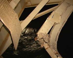 Ramona Cargo Ship Hits Danish Bridge