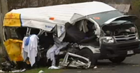 Cancer Council Bus in Accident, 3 fatalities