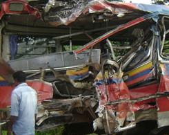 Sri Lanka Accident injures 15