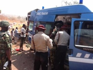 Nigerian Buses Collide, Killing Drivers