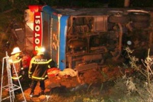 Argentina Bus Kills 12 in High Speed Ravine Crash Loss of Control