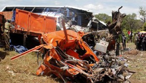 Bus Crash Kills 53 in Zambia