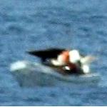 Star Princess Cruises Past Stranded Fishermen