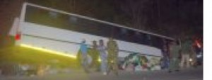 Twenty Injured in Swazi Bus