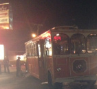 Several Injured after Trolley Crashed into light post in Fort Wayne