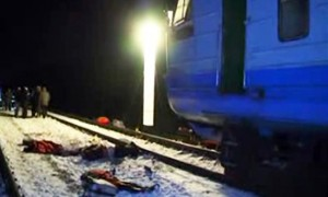 Train Collision in Ukraine Kills 13