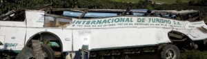 Colombia Bus Crash Casualties Mount