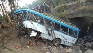 Passenger Bus Hurtles-off Cliff in Ethiopia; 38 Killed, 10 Injured