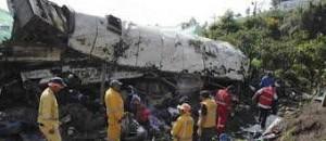 Chiva bus crashes near Cali, Colombia