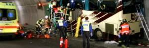 28 lost in Belgian Bus Crash Returning from Swiss Skiing trip