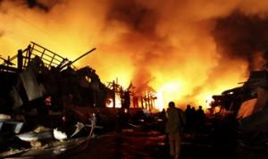 Myanmar Crash Injures 93, kills 25