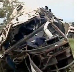 Bus Crashes in Colombia