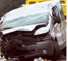 Croatian Bus Crashes and Injures Ten