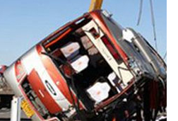 Speeding Bus Kills 26 high-school girls