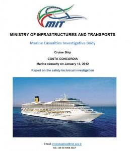 Italian Maritime Authorities'  Official Costa Concordia Grounding Report