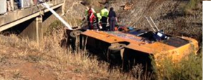 Meyerton bus crash  Preliminary report due to Release Friday
