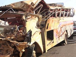 13 in Mass Grave after  Nairobi Bus Crash