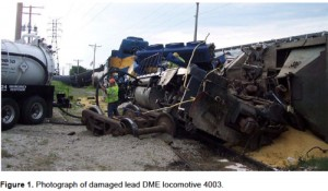 NTSB REPORT on Iowa Train Crash Caused by misaligned switch