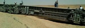 Train Derails, Over 300 aboard, 35 Injured