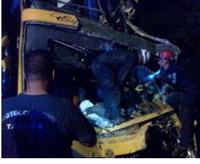 Venezuelan bus crash, 9 Fatalities, Thirty-five injured