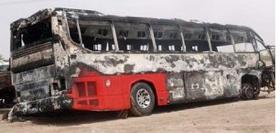 Wad Medani-bound bus Hits Minibus Head-on
